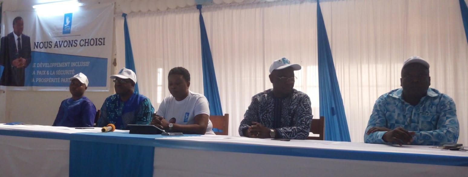 Atakpamé: les cadres UNIR-Ogou donnent le ton à la mobilisation