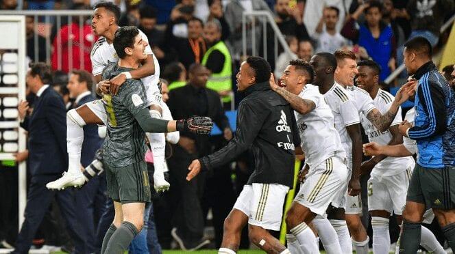 Football : Encore Un Nouveau Trophée Pour Le Real Madrid