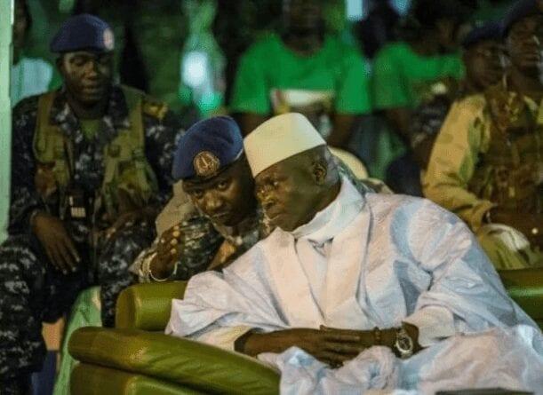 L'ex-président Yahya Jammeh risque d'être arrêté si jamais il retourne au pays