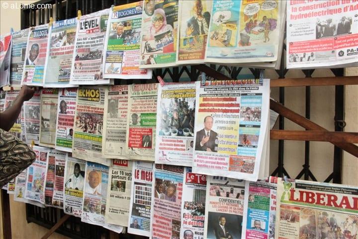 Au Togo, la presse exige le paiement de ses prestations