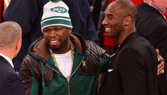 50 cent prend une ferme résolution suite au décès de Kobe Bryant