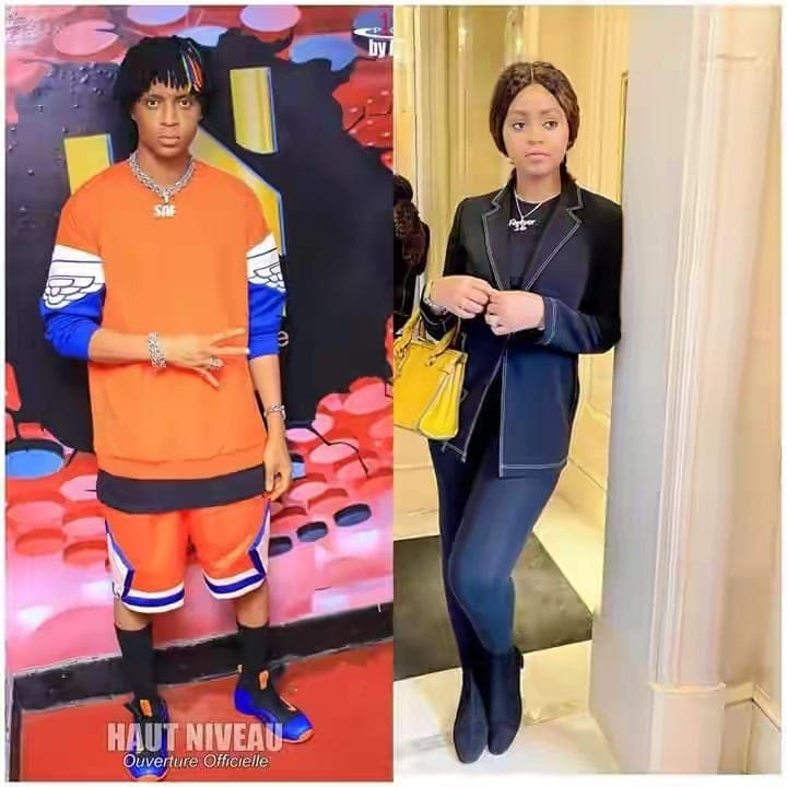Forte ressemblance entre Safarel Obiang et Regina Daniels (Photos)