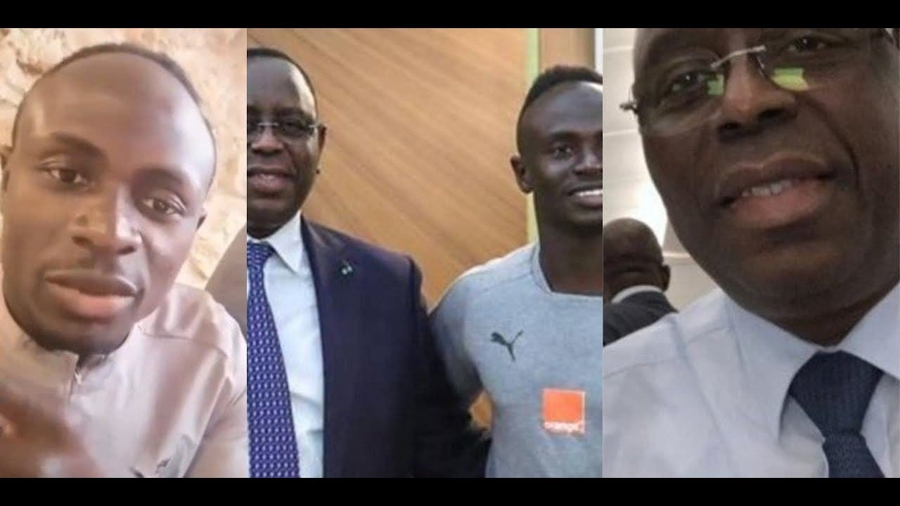 Sadio Mané parle de sa rencontre avec le président Macky Sall