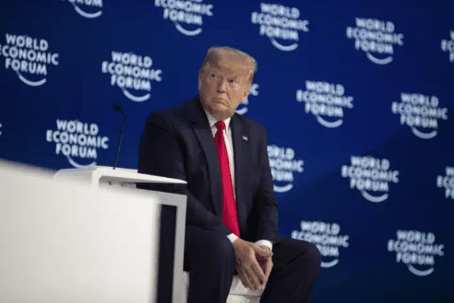 A Davos, Donald Trump réitère sa non croyance au changement climatique