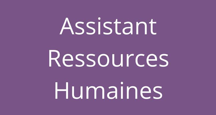 Offre D'emploi Pour Assistants Des Ressources Humaines