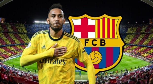 Aubameyang sera t-il transféré vers Barcelone cet hiver ?