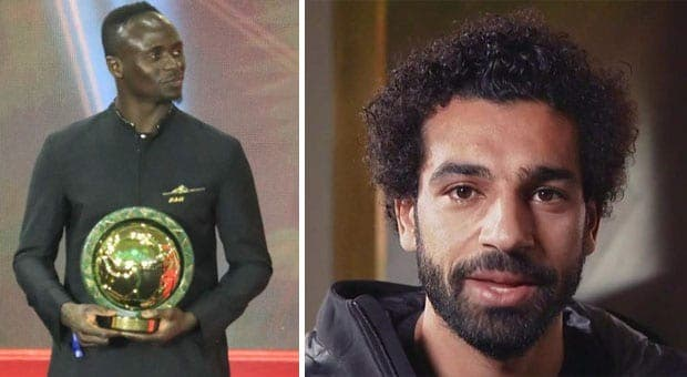 Sadio Mané, titulaire de ballon d'or, Salah sort de son silence
