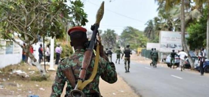 Côte d'Ivoire: Une attaque d'un poste des forces Armées fait des morts à Tabou