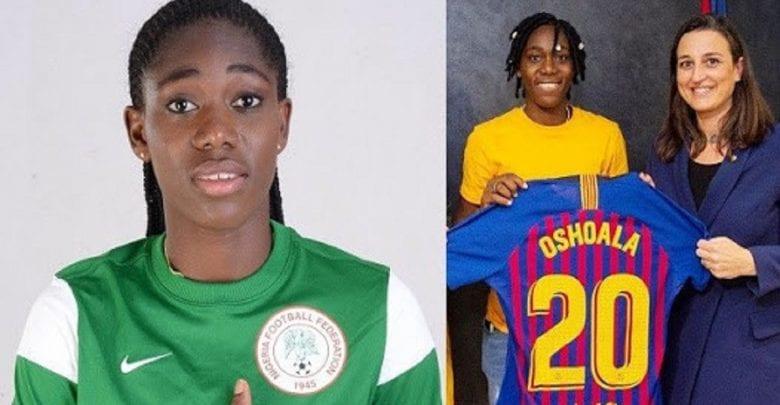 CAF Awards: La Nigériane Asisat Oshoala élue meilleure joueuse africaine de l'année