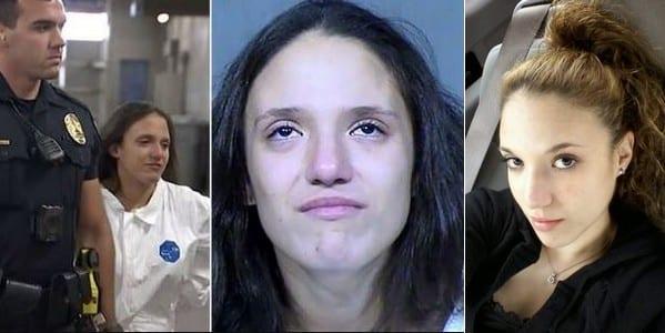 Cette mère de 22 ans, étouffe à mort ses 3 enfants de 7 mois, 2 et 3 ans, tout en chantant