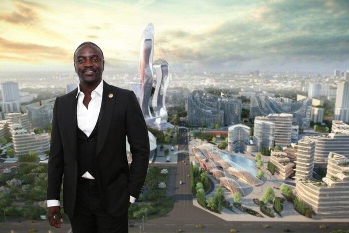 Construction de « Akon City » : L'accord est signé, voici le lieu choisi pour accueillir ce géant projet