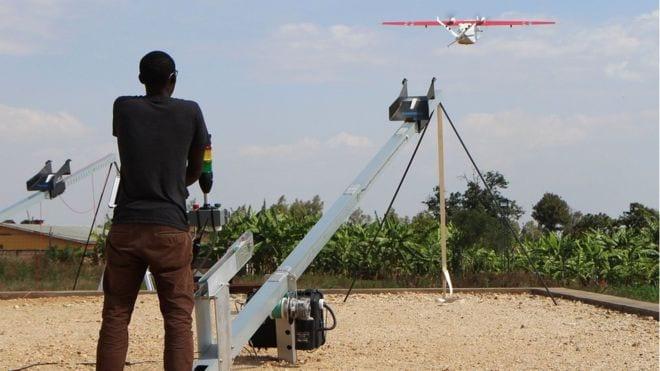 Des drones pour lutter contre le paludisme au Rwanda