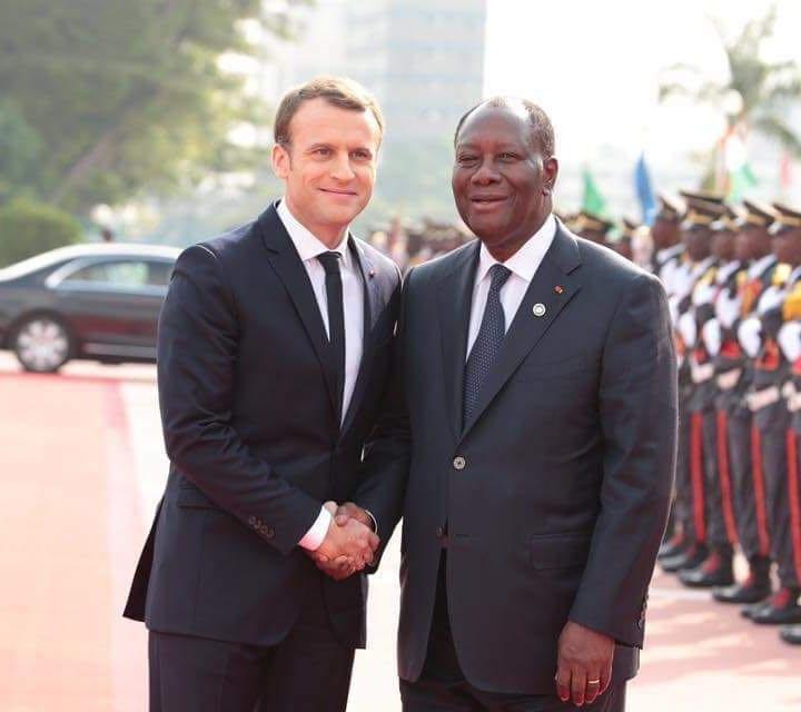 Découvrez les non-dits de la visite de Macron en Côte d'Ivoire