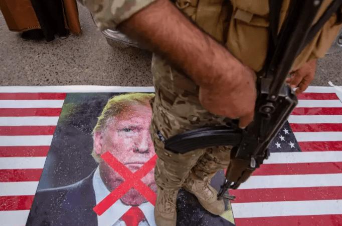 En Irak, les Américains visés après les obsèques du général iranien Ghassem Soleimani