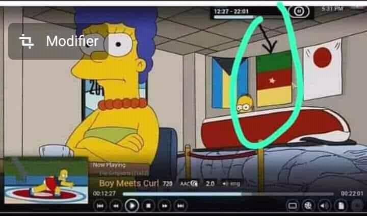 Les Simpson prédisent que le Cameroun sera une puissance mondiale aux côtés du Japon