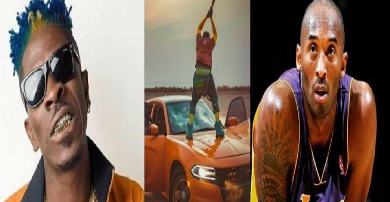 Ghana: un célèbre chanteur détruit sa voiture après la mort de Kobe Bryant