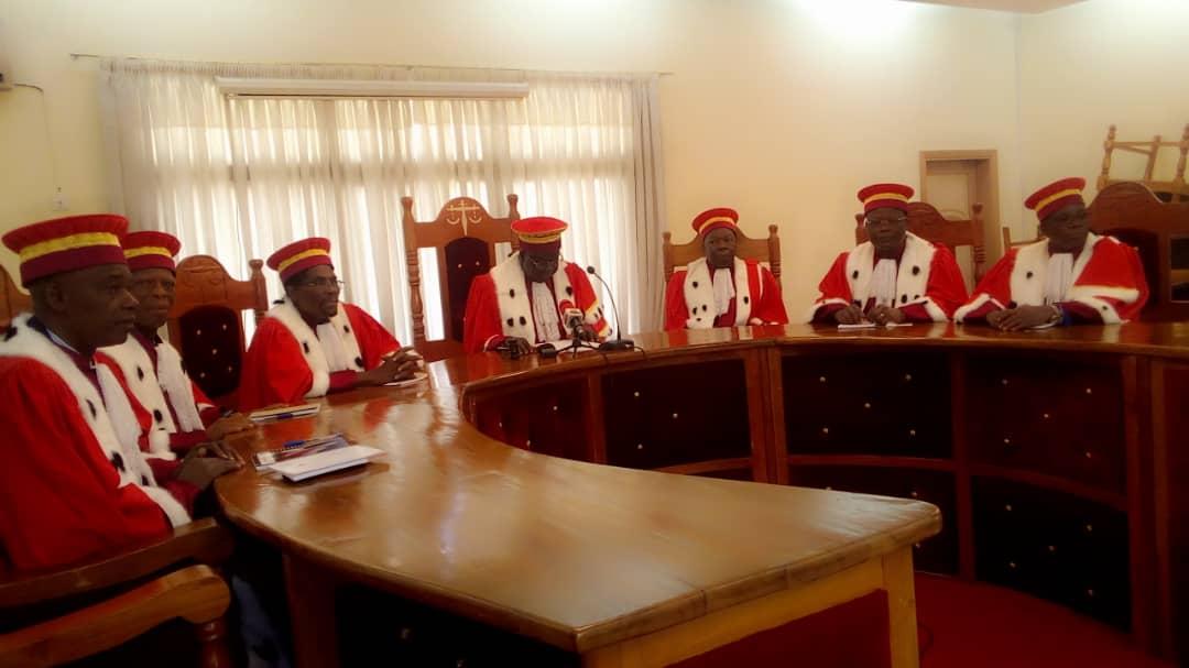 Présidentielle au Togo: Sept (7) candidats retenus par la Cour constitutionnelle