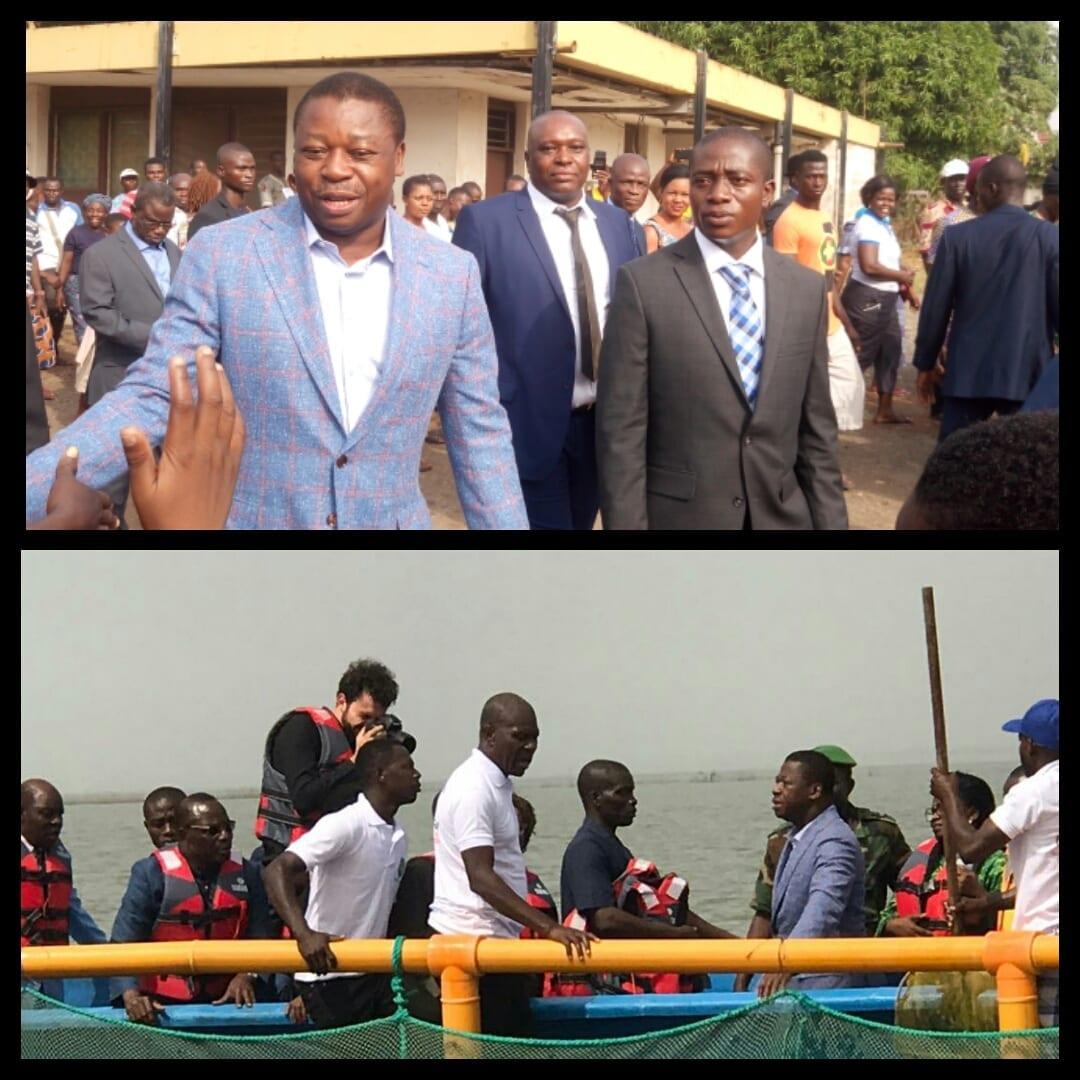 Ogou2: Faure Gnassingbé a inauguré l'Entreprise LOFTY FARM à Fin-Digue