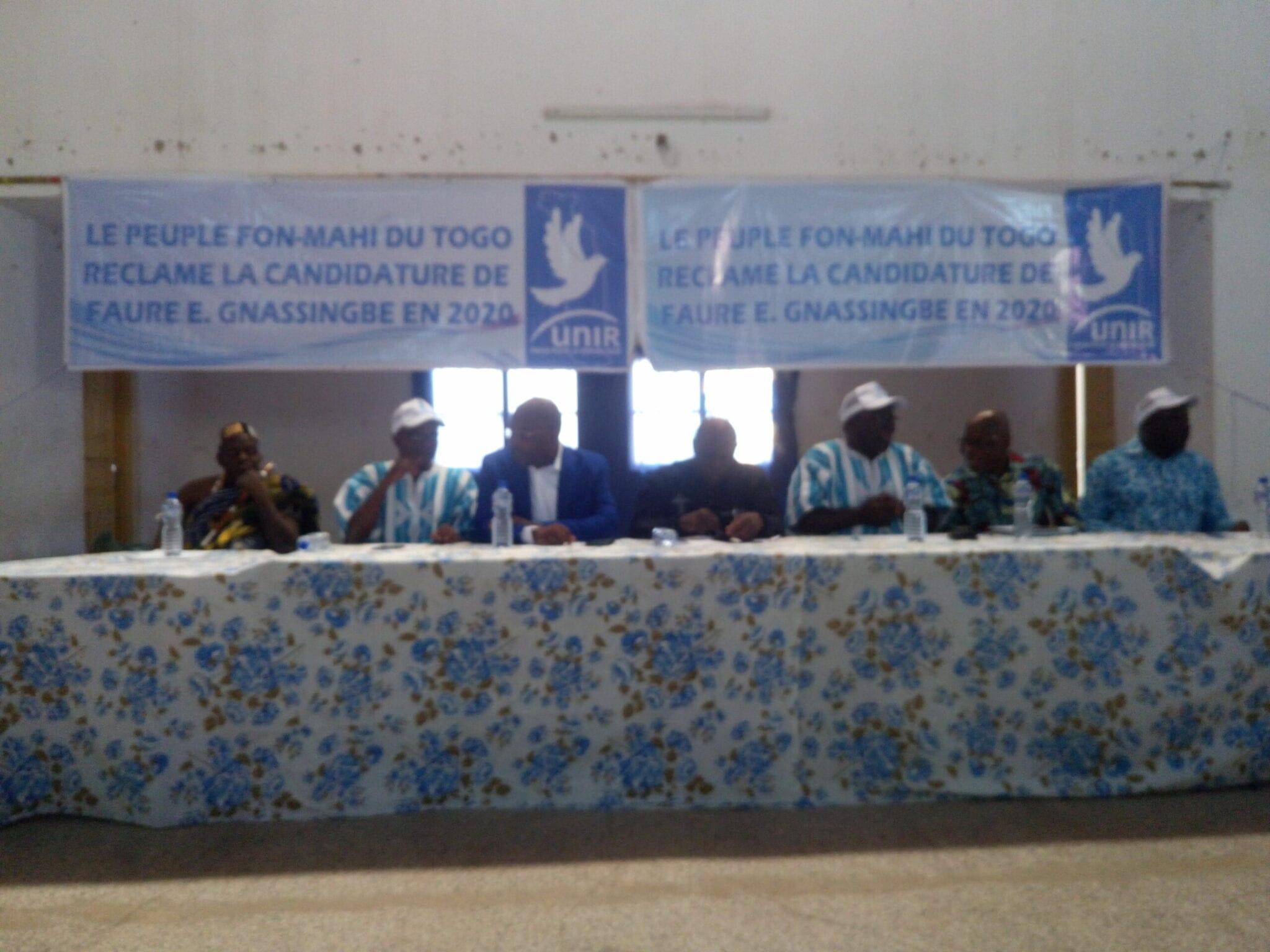 Atakpamé : les peuples Fon-Mahi du Togo sollicitent Faure Gnassingbé à être candidat pour 2020