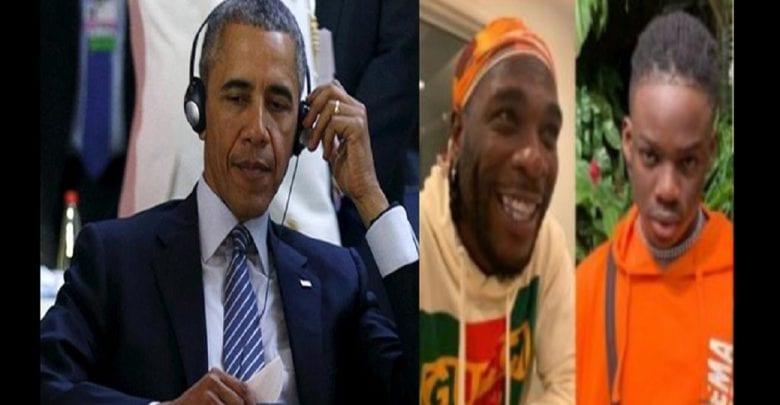Les musiciens nigérians, Burna Boy et Rema sur la playlist de Barack Obama