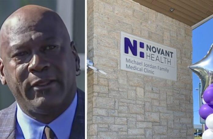 Michael Jordan ouvre une clinique à 7 millions $ pour les plus démunis