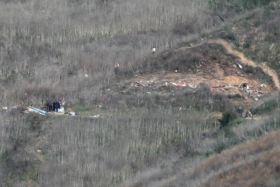 Mort de Kobe Bryant : Les neuf corps récupérés sur le site de l'écrasement