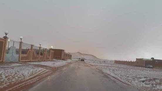 Il a neigé pour la première fois au Niger