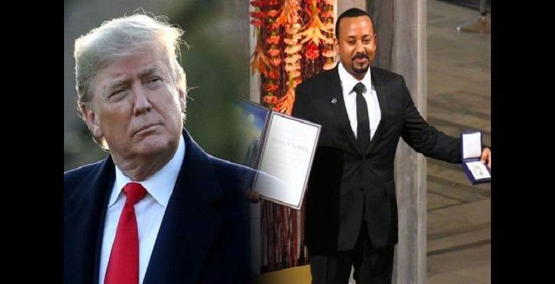 """Prix Nobel de la paix 2019 : """"quelqu'un d'autre a eu mon Prix Nobel de la paix"""" dixit Donald Trump"""