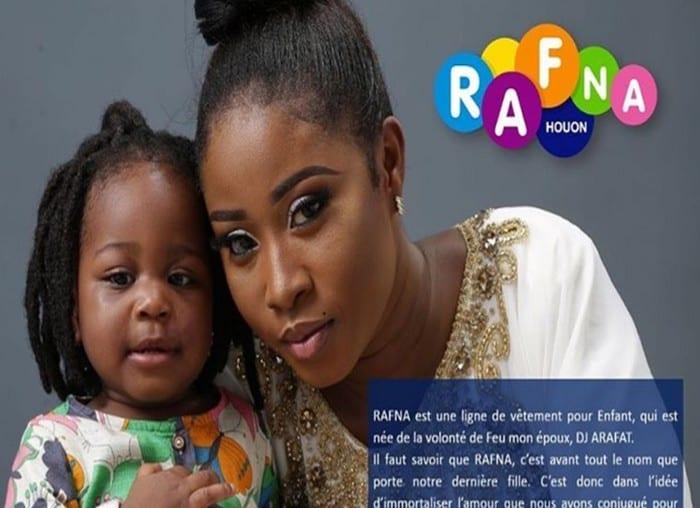 Rafna, la fille de DJ Arafat a désormais sa marque de vêtements