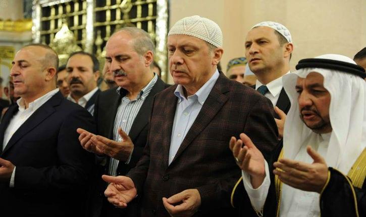 """Recep Tayyip Erdogan : """"Jérusalem est sacrée pour les musulmans"""""""