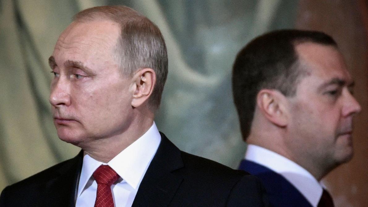 Russie : Vladimir Poutine se sépare finalement de Dimitri Medvedev