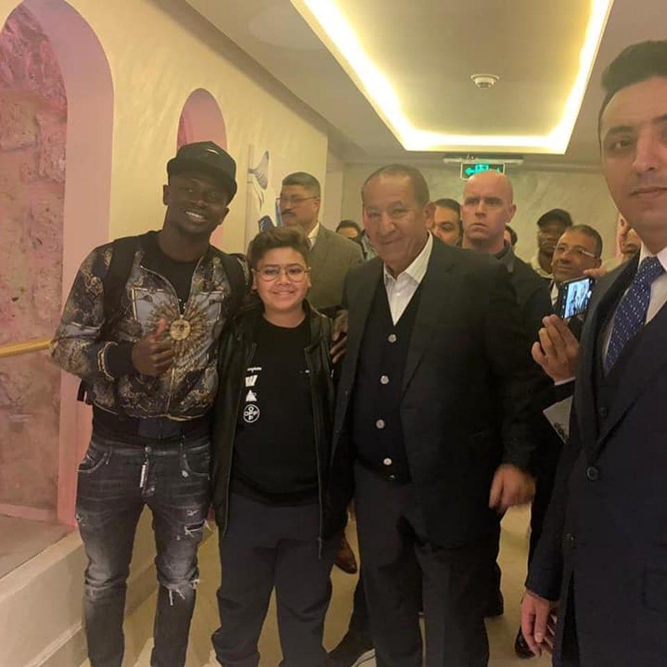 Sadio Mané est arrivé en Égypte pour la cérémonie de remise du Ballon d'Or africain 2019