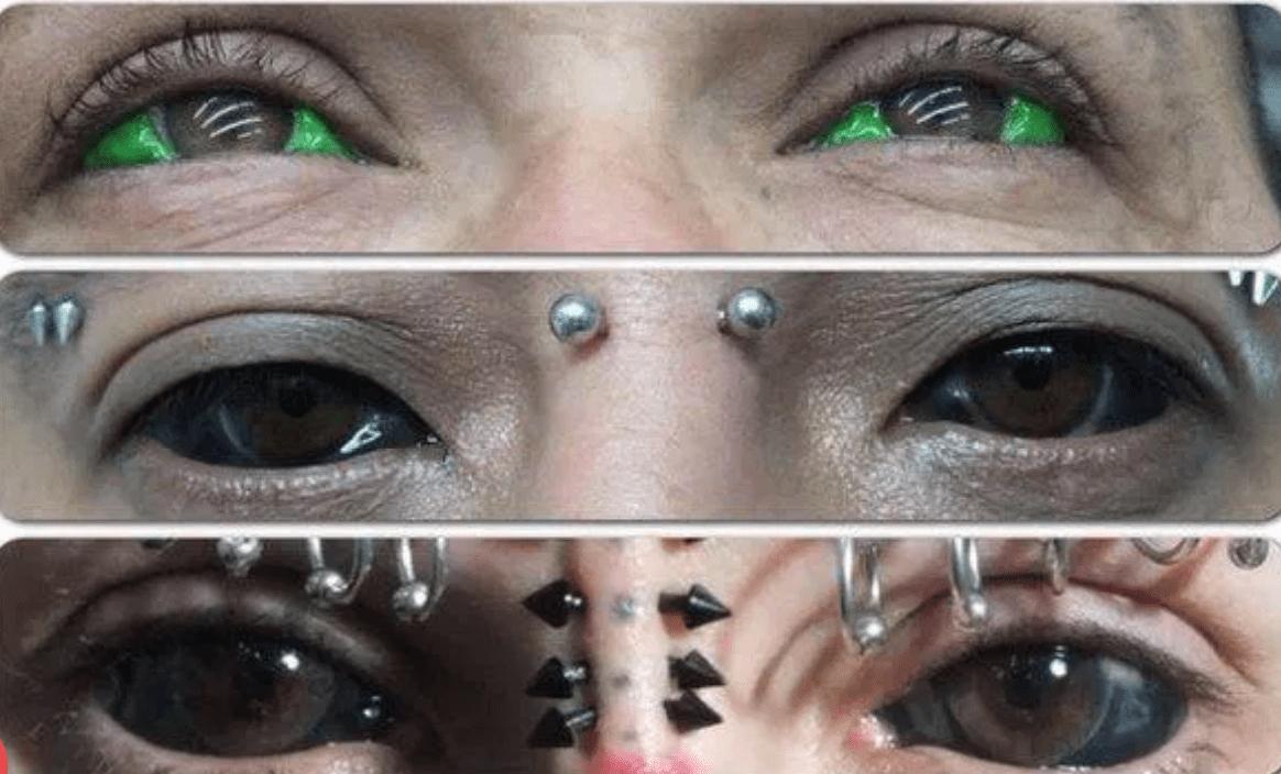 Une dangereuse pratique venue des USA prend ampleur, le tatouage des yeux