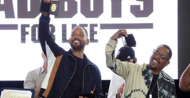 Will Smith et Martins Lawrence nommés officiers de police honoraires-Vidéo
