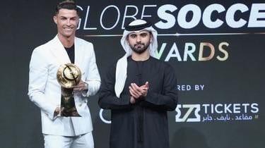 La Rolex au poignet de Cristiano Ronaldo coûte environ un demi million d'euros