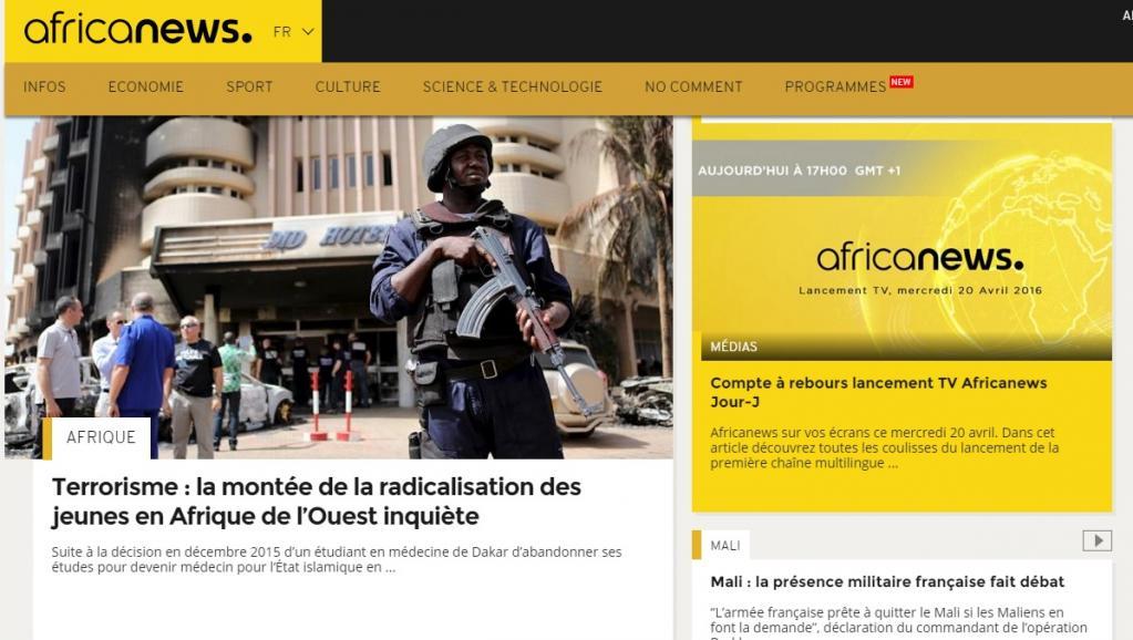 La Chaîne panafricaine Africanews va fermer ses portes