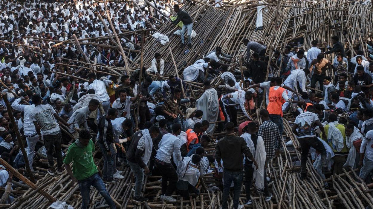 Ethiopie : Au moins 10 morts dans l'effondrement d'une plateforme