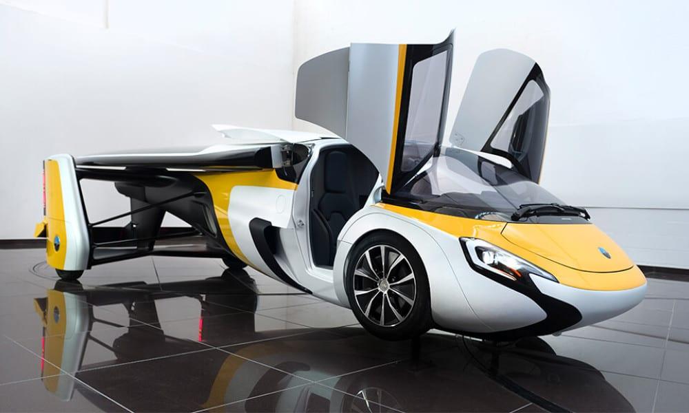 Une startup française lancera sa voiture volante bientôt