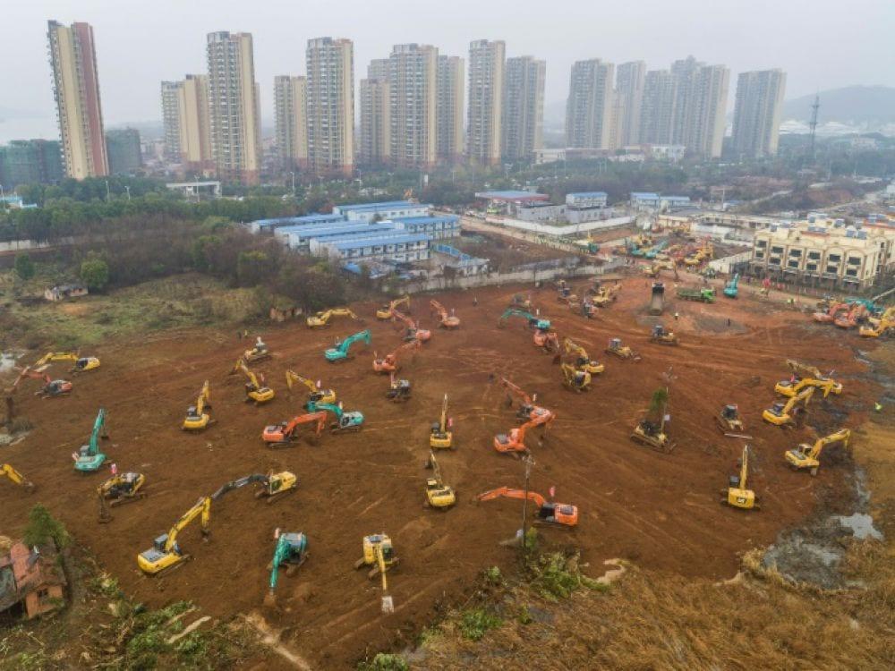 Coronavirus/ La Chine se lance le défi de construire un hôpital en 10 jours