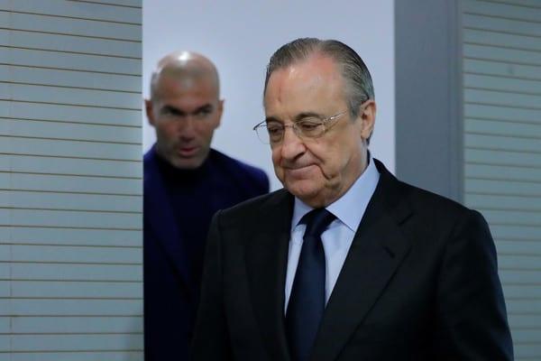 Real Madrid : Les relations seraient tendues entre Zidane et Perez