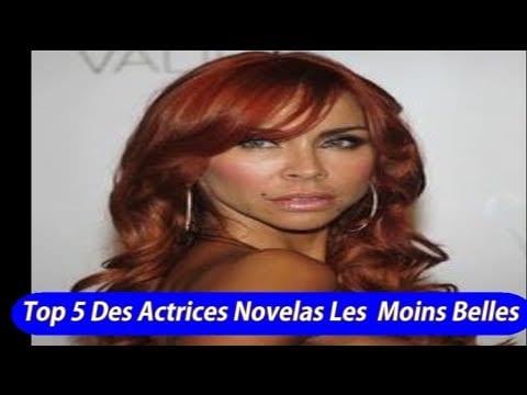 Top 5 Des Actrices de Télénovelas Les Moins Belles