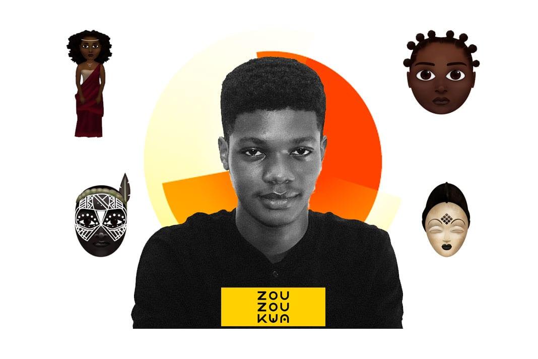 Côte d'Ivoire : Amadou Gon Coulibaly félicite le jeune graphiste O'Plérou