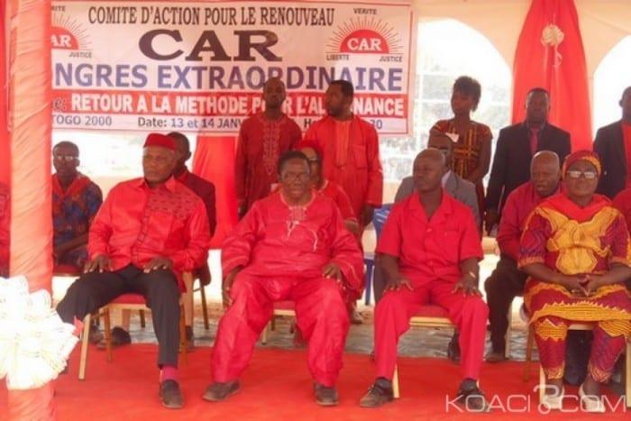 Togo : Le CAR se désolidarise de son représentant à la CENI