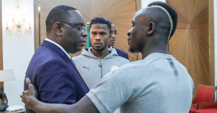Sadio Mané va présenter son ballon d'or à Macky Sall