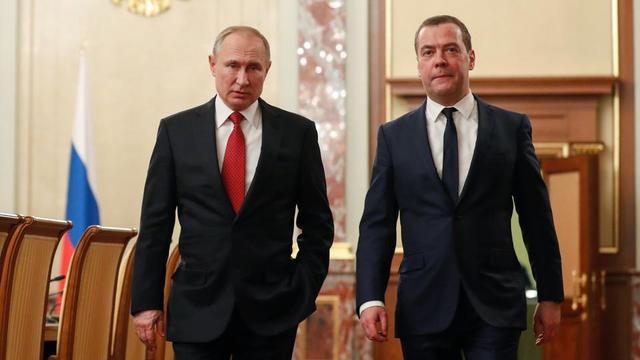 Russie : Le premier ministre annonce la démission de son gouvernement
