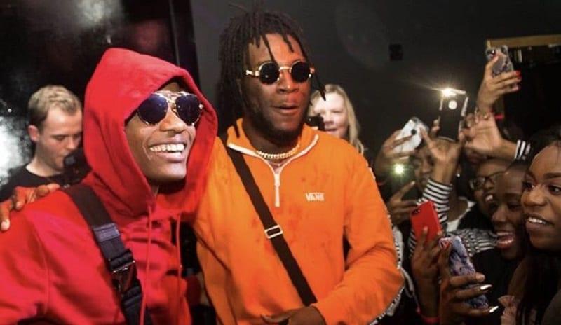 People : Wizkid félicite Burna Boy pour sa nomination aux Grammy Awards