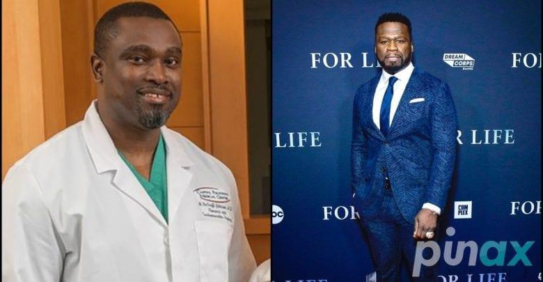 50 Cent: découvrez le chirurgien ghanéen qui lui a sauvé la vie lorsqu'il a reçu 9 balles