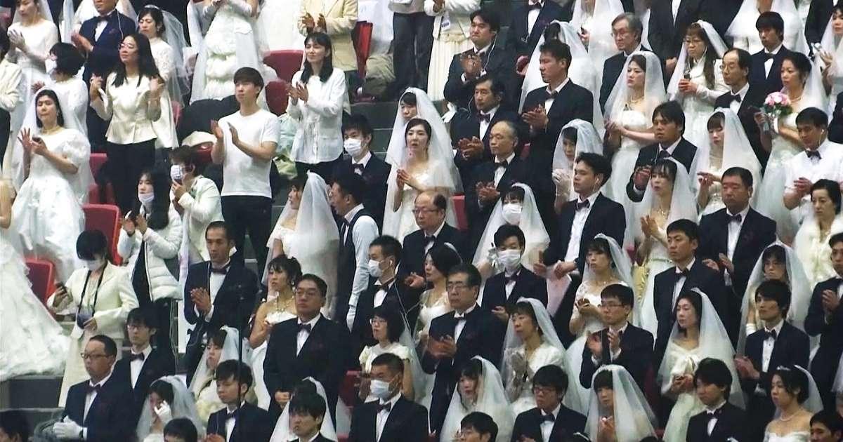 Corée du Sud : 6000 couples se marient malgré le coronavirus