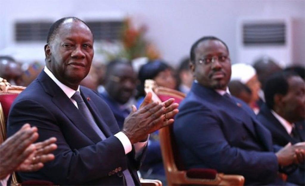 """A huit mois de la présidentielle, Alassane Ouattara propose un """"deal"""" à Guillaume Soro."""
