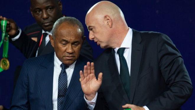 Afrique : la FIFA veut enquêter sur les transactions financières de la CAF